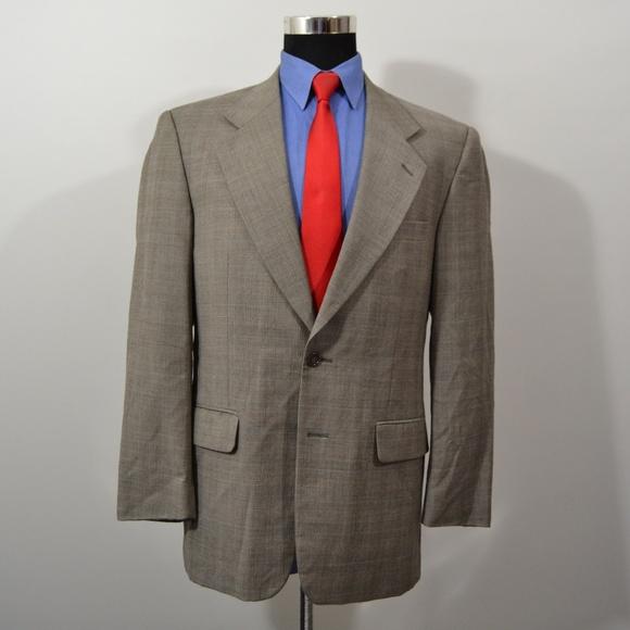 Petrocelli Other - Petrocelli 40R Sport Coat Blazer Suit Jacket Gray